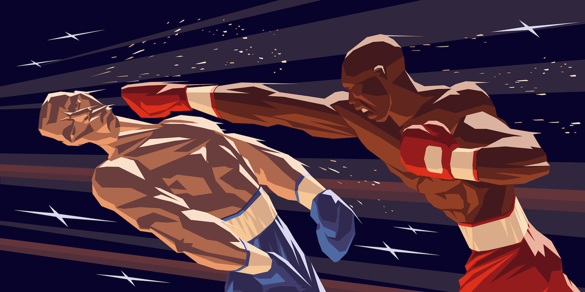 Boxers Knock-down