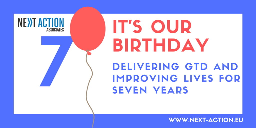 We're 7! How has GTD helped us get this far?