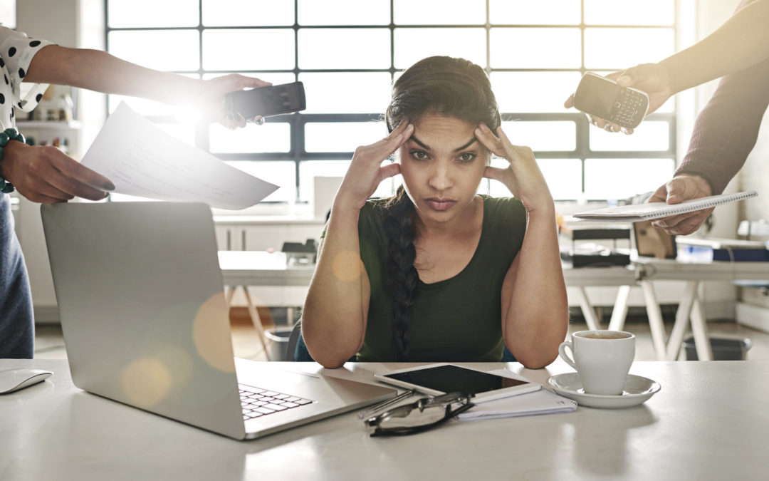 Stressed at work? You're not alone.