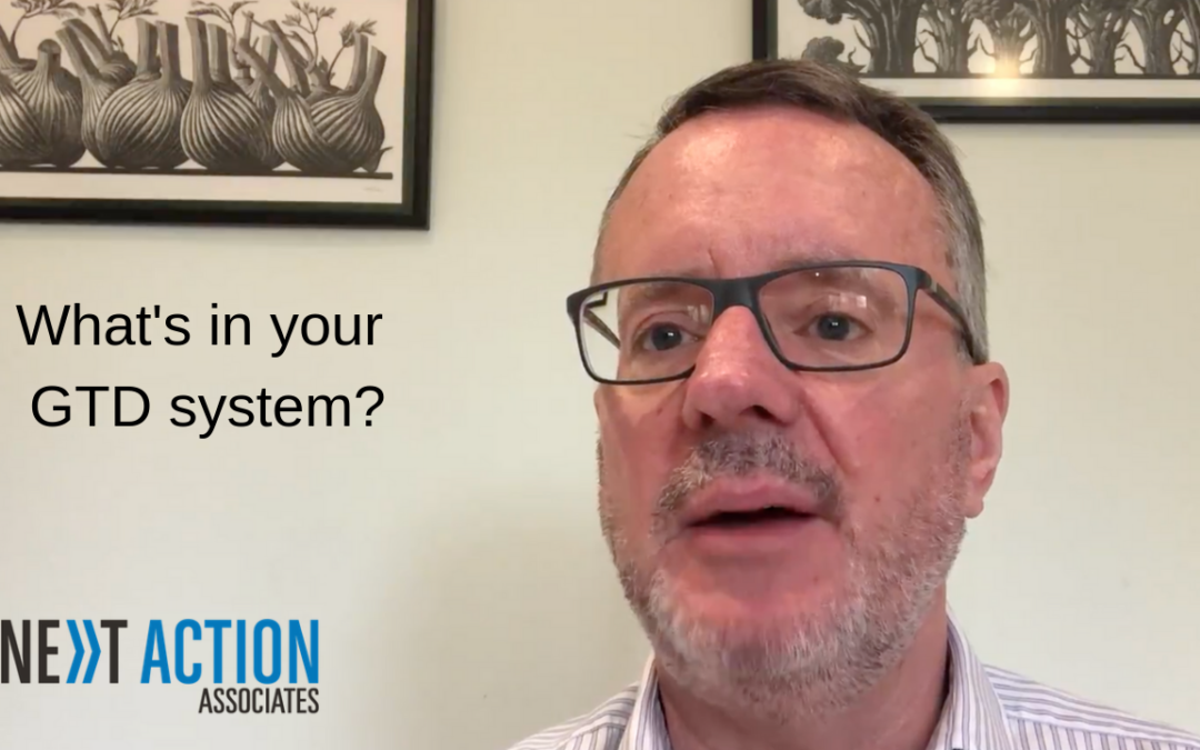 What's in Your GTD® System?
